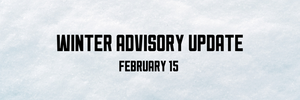 Practice Cancelled for February 15th