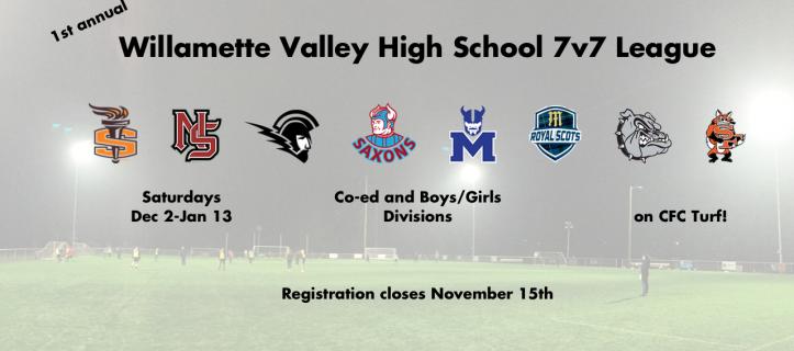 1st annual Willamette Valley High School 7v7 League