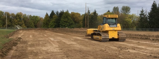 Capital FC breaks ground on new turf field