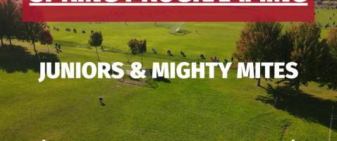 Programas Primavera 2021 Juniors y Mighty Mites