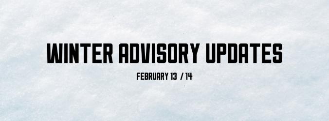 February 13th & 14th OYSA Update