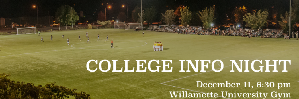 Learn about the college recruiting process at CFC's College Info Night