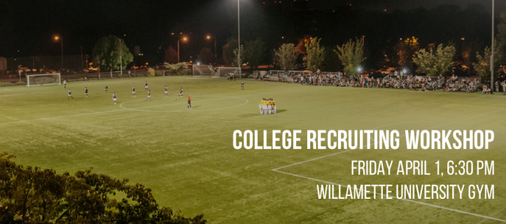 Thinking about college soccer? Join us for our most practical college info night on April 1