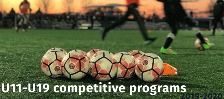 2019-20 Competitive Program Details and Tryout Dates Announced