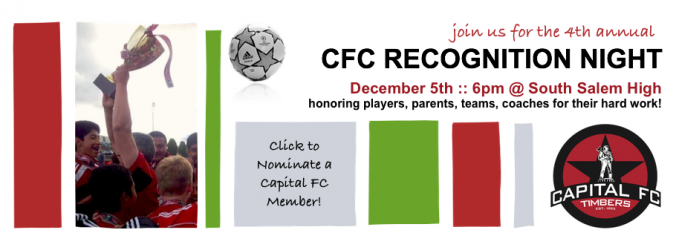 Join Us for the 4th Annual CFC Recognition Night