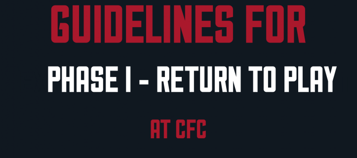 Club Presentation Links on CFC Return to Play
